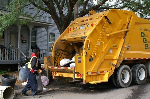 Garbage Collecting Robots